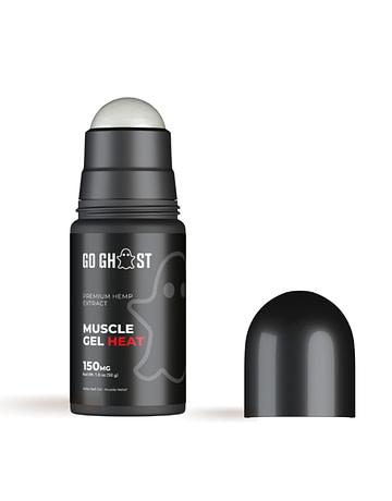 CBD Roll-On Heat Muscle Gel Go Ghost